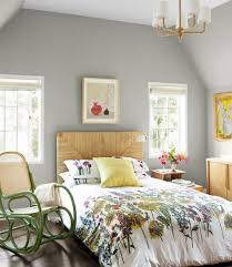 chambre fleurie chambre gris deco fleurie