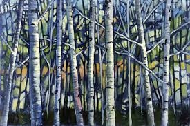 smith ford bare forest limited edition giclee print by ford smith