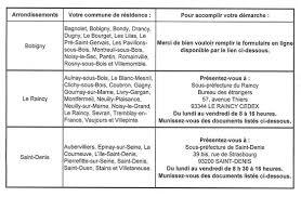 sous prefecture de raincy bureau des etrangers 93省bobigny换10年居留的请注意5月27日起只能网上预约更换了 闲聊法国