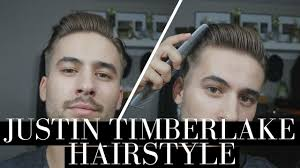 Mens Business Hairstyle by Justin Timberlake Quiff Hairstyle Business Haircut Classic