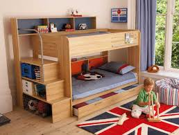 Wood Bunk Bed Designs by L Shaped Bunk Beds Ideas With Simple And Elegant Design And