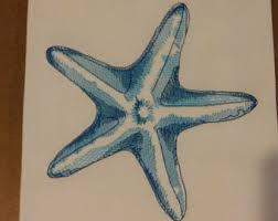 starfish towel starfish towel etsy