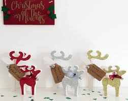 Reindeer Decoration Super Cool Christmas Reindeer Decoration Creative Design Etsy