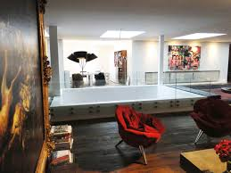spacious loft in saint germain des prés