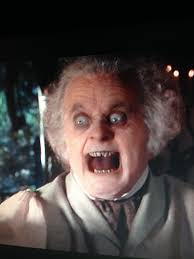 Scared Face Meme - this face still scares me every time lotr