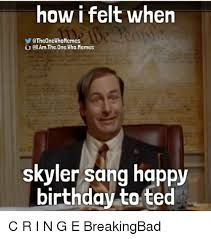 Skyler Meme - 25 best memes about ted happy birthday and birthday ted