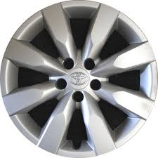 2004 toyota corolla hubcaps h61172 toyota corolla oem hubcap wheelcover 16 inch 4260202430