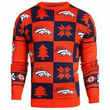 denver broncos sweaters light up sweaters