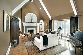 Cathedral Ceilings In Living Room Cathedral Ceiling Painting Ideas Living Room Paint Ideas Cathedral