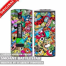Original Garskin Skin Mod Vape Smoant Battlestar Carbon 3d jual original garskin skin mod vape smoant battlestar di