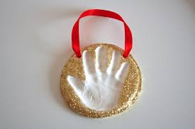 baking soda clay handprint keepsakes papa bubba