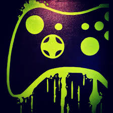 video game controller art by controlfreakgameart on etsy room