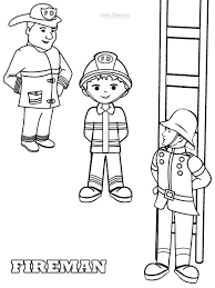 free printable fireman coloring pages 26957 bestofcoloring