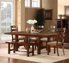 6 Piece Dining Room Sets by Black Dining Room Set With Bench Descargas Mundiales Com