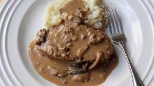 turkey mushroom gravy recipe details creamy mushroom meatloaf recipe allrecipes com