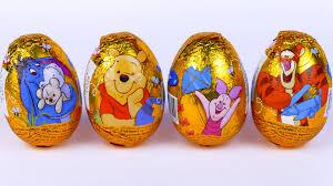 winnie the pooh easter eggs 4 eggs disney winnie the pooh toys pooh