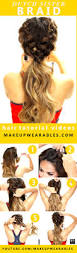 3 cutest braided hairstyles mohawk braid messy bun