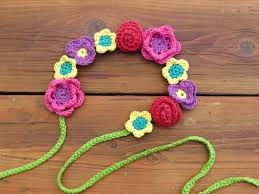 crochet flower headband crochet flower headband pattern festival boho baby crochet