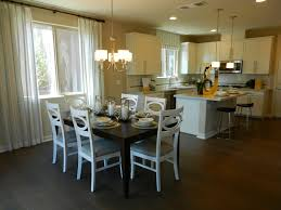 beautiful kitchen and dining room in the lillian model by richmond