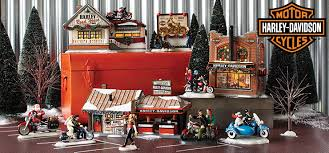 department 56 harley davidson buildings and accessories