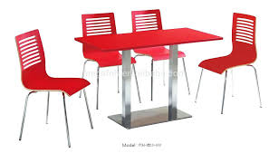 table and chair set for sale restaurant tables and chairs modern canteen red table chairs set