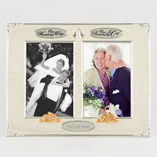 50th anniversary photo album 014263 4x6 wedding 50th anniversary photo frame things