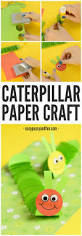 paper caterpillar craft paper circles crafts easy peasy and fun