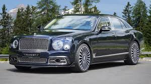 bentley mulsanne by mansory adds sportiness without going too far