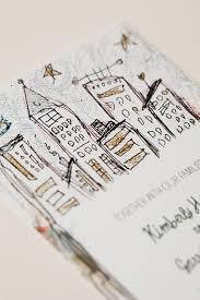 wedding invitations nyc garrett s whimsical illustrated nyc wedding invitations