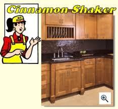 Kitchen Cabinet Depot Cinnamon Shaker Kitchen Cabinet Depot