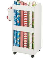 gift wrap cart wrapping paper cart in gift wrap organizers
