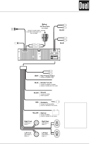 wiring diagram for a dual car stereo wiring diagram and