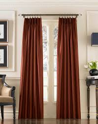 marquee faux silk pinch pleat drapery curtainworks com