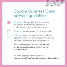 Business Cards For Tree Service Square Business Cards Print Custom Business Cards Moo