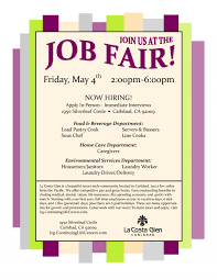 job fair flyer template free best and professional templates