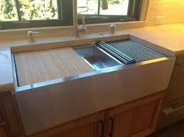 double basin apron front sink 39 apron front ledge sink double bowl large bowl left 5lad39