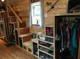 harmony haven u2013 double storage staircase u2014 tiny house of the year