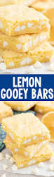 lemon gooey bars crazy for crust