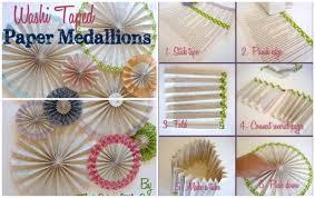 paper backdrops how to make washi paper medallion backdrops diy tag