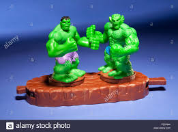 incredible hulk abomination happy meal toy stock photo royalty