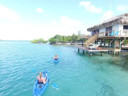 Air Bnb Belize Belize Private Island Rental With Over Water Bungalow Hopkins