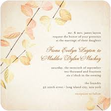 cheap fall wedding invitations wedding wedding invitations cheap