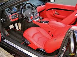 maserati granturismo sport interior rosso corallo interior 2012 maserati granturismo convertible