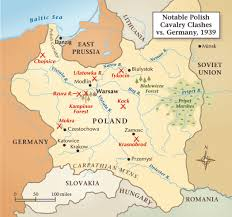 World War 2 Interactive Map by 1939 Polish Cavalry Vs German Panzers Historynet
