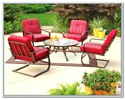 Clearance Patio Furniture Cushions by Walmart Patio Furniture 4 Patio Chair Cushion Covers Walmart