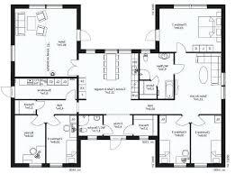 plan de maison 4 chambres plan maison en l 4 chambres plan 4 plain pied plan de maison moderne