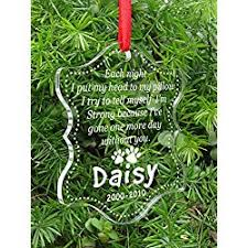 personalized remembrance ornaments personalized christmas memorial dog ornaments let s personalize that