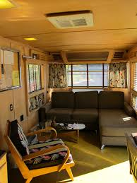 Vintage Airstream Interior by Love Inspire Create Mod On The Go Go Vintage Airstream Trailers