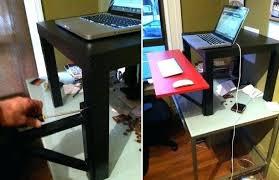 Ikea Standing Desk Galant Standing Desk Ikea Hack Openpoll Me