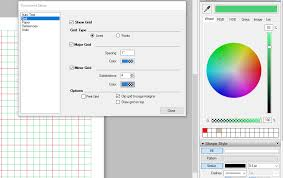 sketchup layout line color changing document grid color in layout help layout sketchup